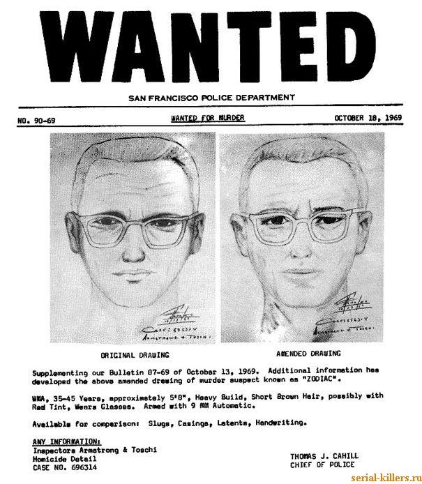 Предполагаемый биографический портрет преступника с сексуальным садизмом